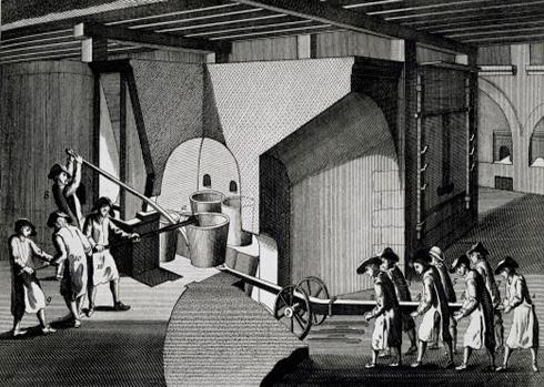 Изготовление зеркал в старину