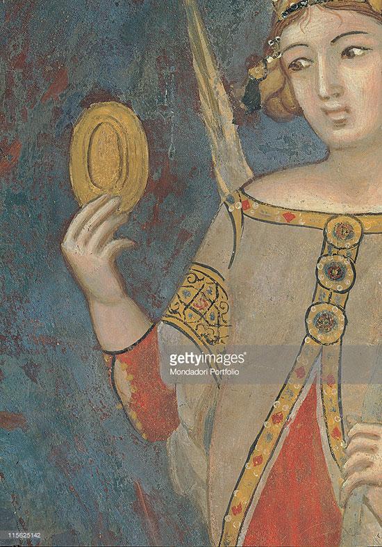 """Фреска """"Аллегория дурного правления"""", Италия, XIV век"""