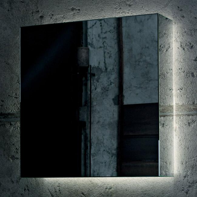 Зеркало в стиле лофт минимал
