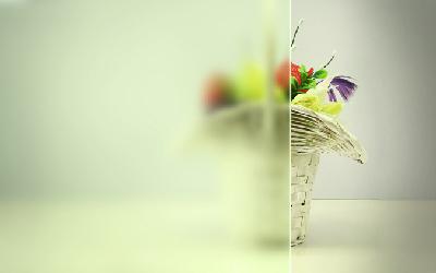 Матированное стекло фото